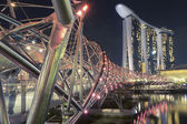 Helix bridge — Stock Photo