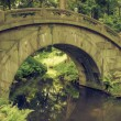 Humpbacked bridge - Stock Photo