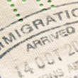 Immigration stamp — Stock Photo #23673821