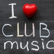 Love club music — Stock Photo