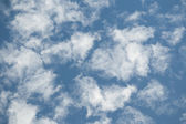Vita moln — Stockfoto