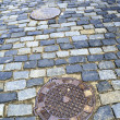 Old city pavement - Stock Photo