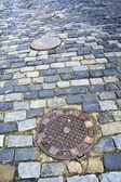 Old city pavement — Stock Photo