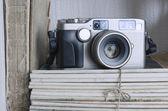 Vintage camera — Foto Stock