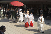 Japanese wedding — Stock Photo
