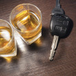 Drunk driving — Stockfoto