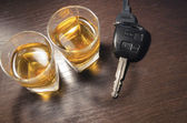 Drunk driving — Stock Photo