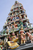 Hindu temple, Singapore — Stock Photo
