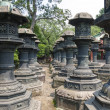 Stock Photo: Stone lanterns