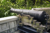 Fort Canning cannon — Stock Photo