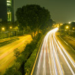Stock Photo: Night roads
