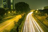 Night roads — Stock Photo