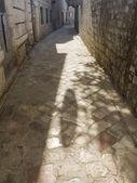 Středověká ulice — Stock fotografie