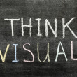 Think visual — Stock Photo