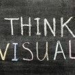 Stock Photo: Think visual