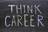 Pensez carrière — Photo