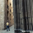 Gothic Quarter, Barcelona — Stock Photo