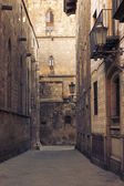 Gothic Quarter, Barcelona v — Stock Photo