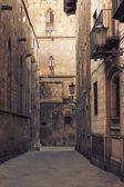 Gothic Quarter, Barcelona v — Stock Photo
