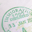 Immigration stamp — Stock Photo #37733723
