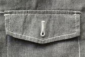 Unbuttoned pocket fragment — Foto Stock