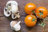 Sağlıklı çiğ gıda — Stok fotoğraf