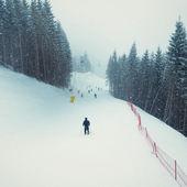 Lyžařské středisko — Stock fotografie
