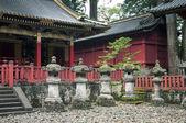 Stone lanterns — Stock Photo
