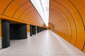 Modern underground — Stock Photo