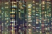 Fenêtres de la nuit — Photo