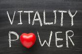 Poder de vitalidade — Fotografia Stock