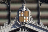 Barcelona Coat of Arms — Stock Photo