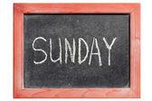 Sunday — Stock Photo