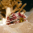 Christmas tree on a coral — Stock Photo