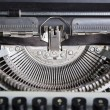 Typewriter mechanism — Stock Photo