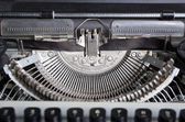 Typewriter mechanism — Stock Photo