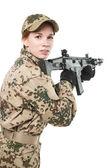 NATO soldier.  — Stock Photo
