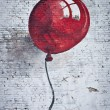 Stock Photo: Red baloon 1