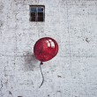 Stock Photo: Red baloon 2