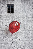 Red baloon 4 — Stock Photo