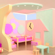 Children room interior — Stock Photo
