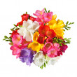 Bouquet top view - Stock Photo