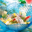 Herring salad with apple and potato — Stock Photo #12914177