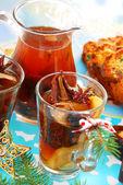 Torkad fruktkompott till jul — Stockfoto