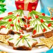 Christmas breakfast for child — Stock Photo #13294646