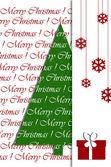 Christmas wenskaart ontwerp — Stockfoto