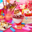 Birthday party for children — Stock Photo