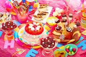Birthday party for children — Photo