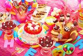 Festa di compleanno per bambini — Foto Stock