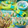 Royalty-Free Stock Photo: Collage for easter time